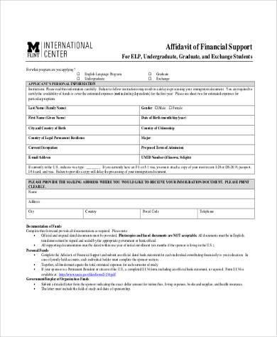 child support affidavit samples - Josemulinohouse - affidavit sample