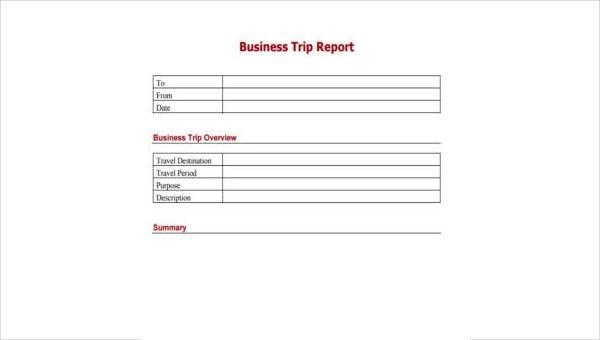 Sample Business Report Forms - 7+ Free Documents in Word, PDF