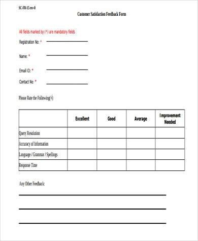 Client Feedback Form  CvresumeCloudUnispaceIo