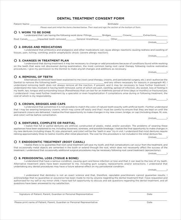 medical consent form template – Medical Consent Form Template
