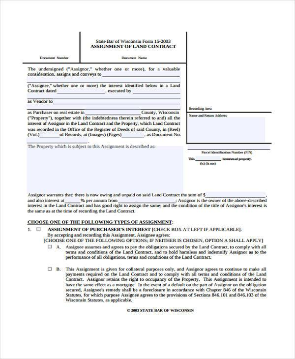 assignment template word – Patent Assignment Form
