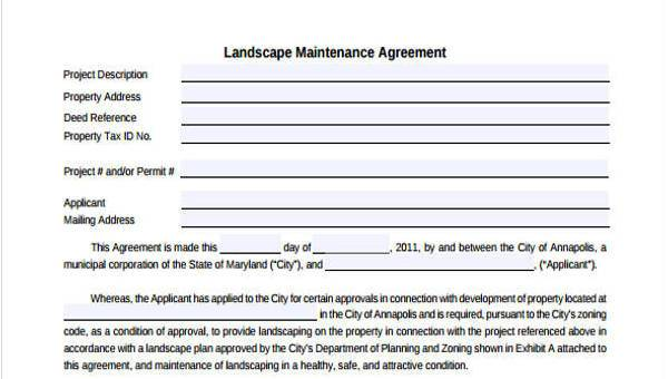 Sample Maintenance Contract Forms - 8+ Free Documents in Word, PDF