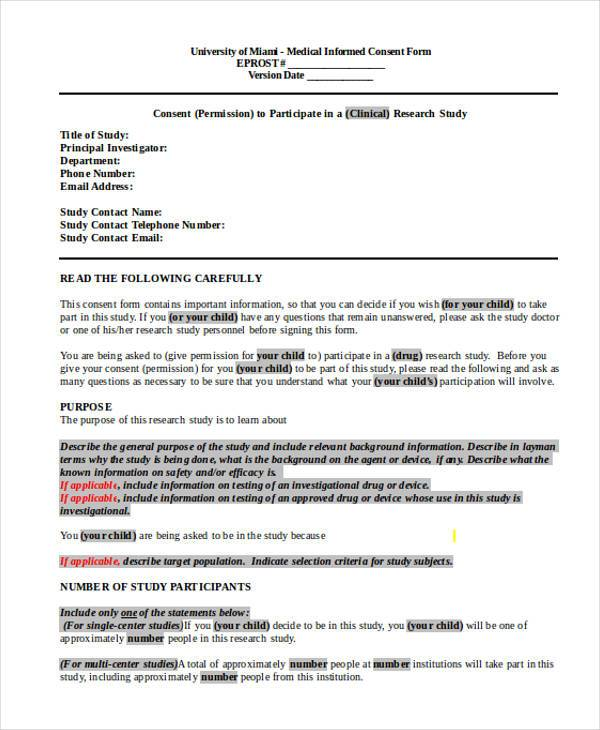 Sample Child Medical Consent Form Child-Medical-Consent-Form - medical consent forms