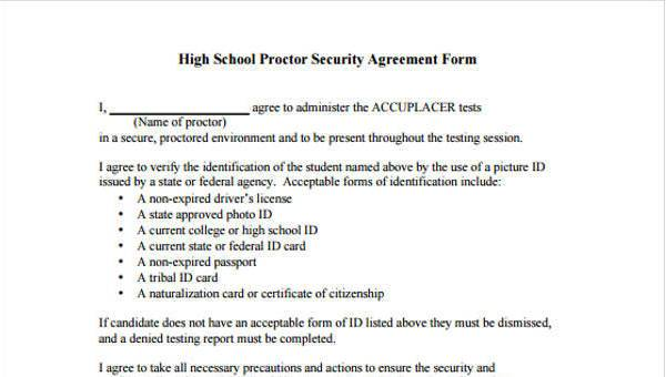 10+ Security Agreement Form Samples - Free Sample, Example Format