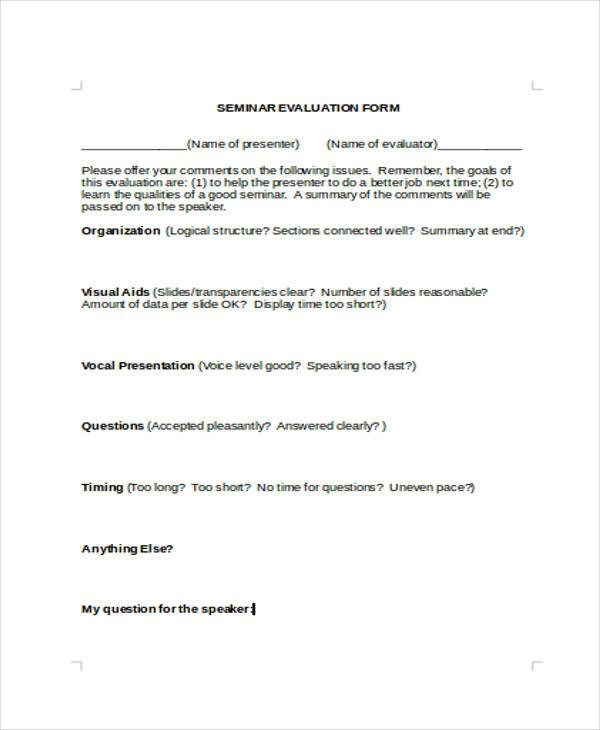 Ceu Workshop Evaluation Form Sample \u2013 switchsecuritycompanies