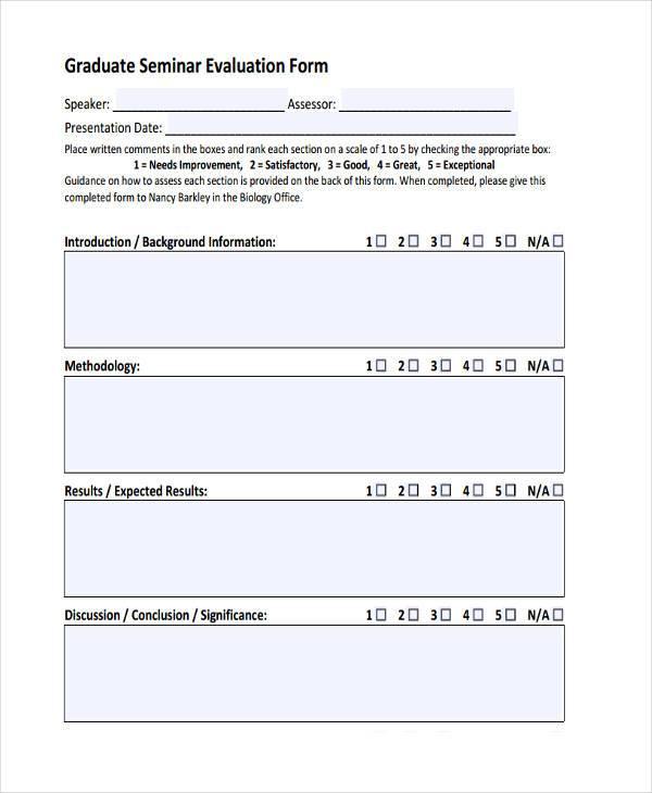 Doc#7361074 Presentation Evaluation u2013 25 best ideas about - sample presentation evaluation form example