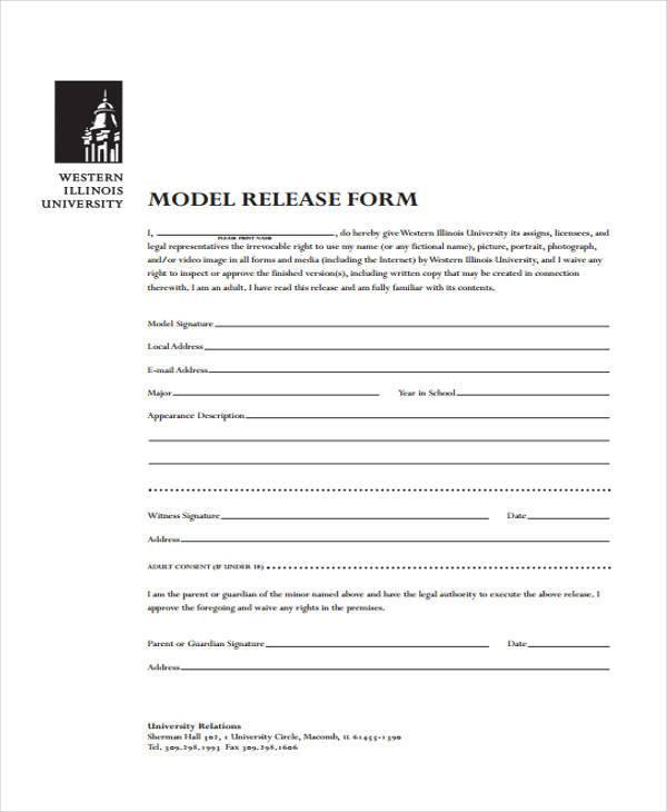 7+ Model Release Form Samples - Free Sample, Example Format Download