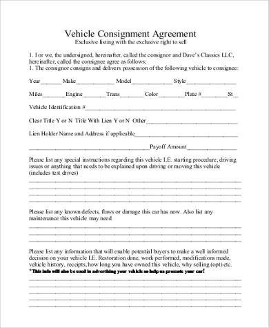 Basic Agreement Form Sample Sublease Agreement Form Template - consignment form template