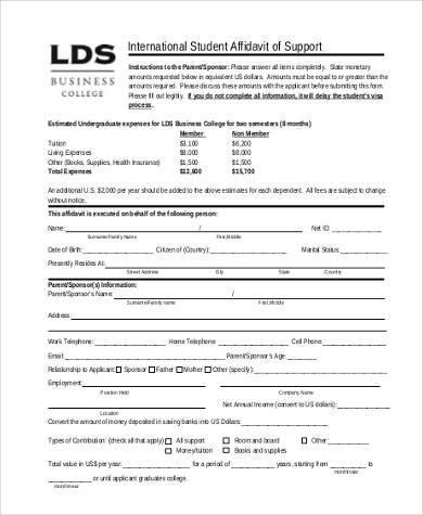 Best Of Affidavit Of Support form Philippine Affidavit Of Support - affidavit of support form