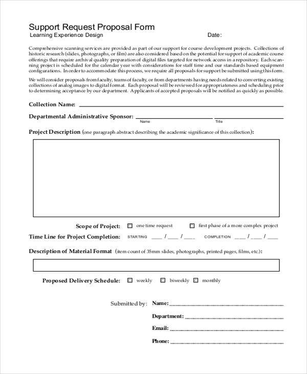 Request For Proposal Example. best 25+ business proposal outline ...