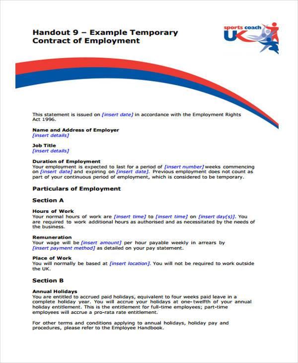 Employment Form Templates - dentist employment agreement