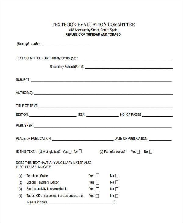 Sample Teacher Evaluation Form Example Course Evaluation Template - class evaluation template