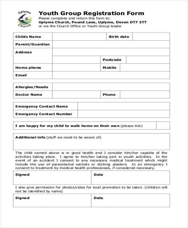 Registration Form Printable Vbs Registration Form Template Best - customer registration form sample
