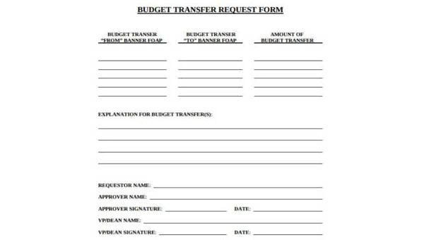 Sample Budget Request Forms - 9+ Free Documents in Word, PDF