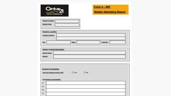 Sample Marketing Report Forms - 7+ Free Documents in Word, PDF - marketing report sample