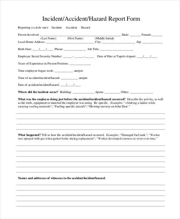 uscg incident report form