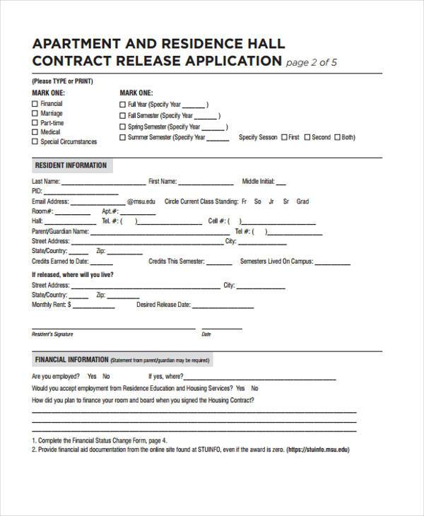 Beautiful ... Sample Contract Forms   Contract Release Form ... Ideas