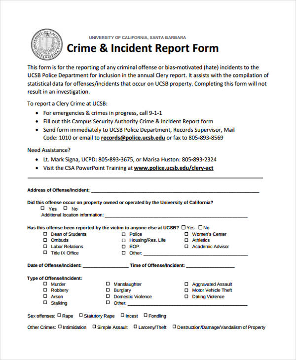 ... Police Incident Report Template Word Jobsbillybullockus U2013 Incident Report  Template Word ...