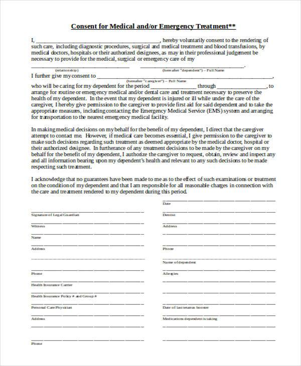 Medical Consent Forms st louis pediatric associates, inc die - medical consent forms