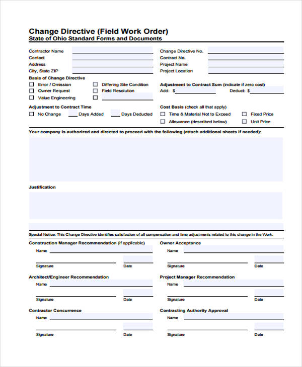 additional work authorization form - Klisethegreaterchurch - Work Authorization Form