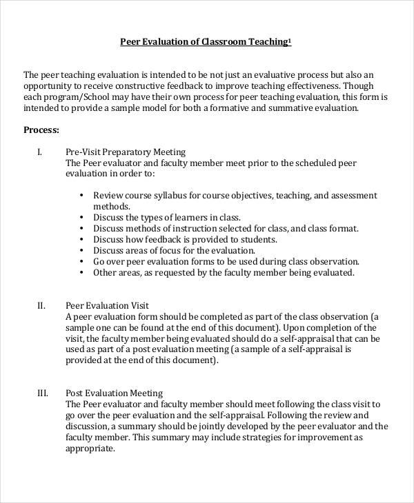 100+ Teacher Feedback Template Coaching Application Formcoach - class evaluation template