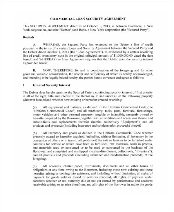 40 Printable Loan Agreement Forms