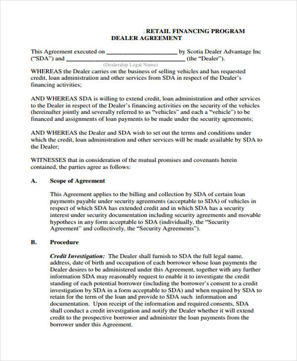 auto loan agreement form - Solidgraphikworks
