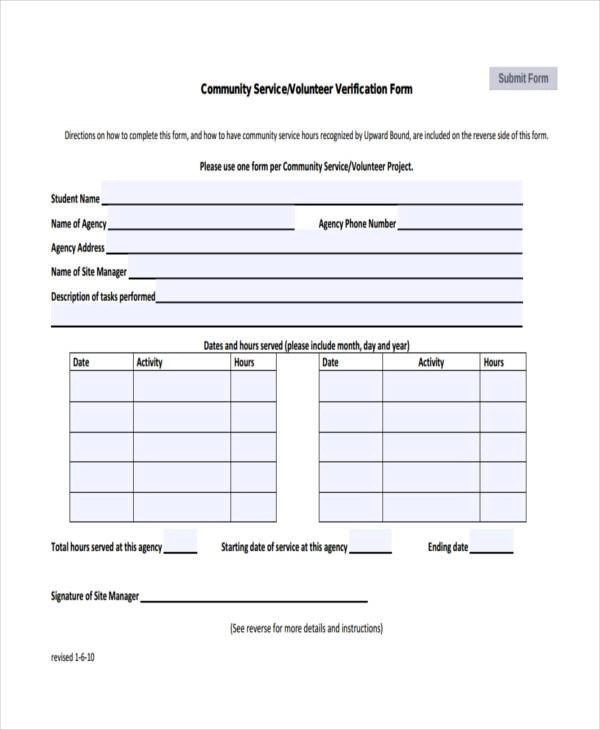 34 Service Forms in PDF