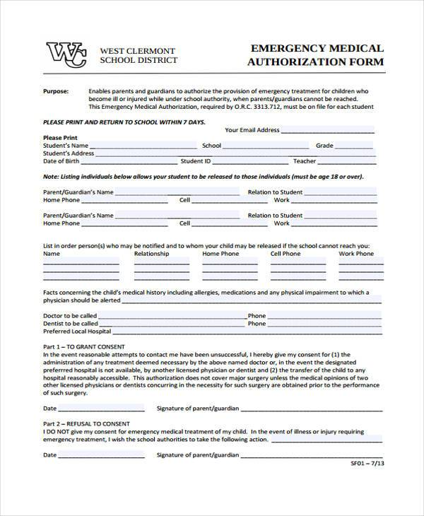 Medical Forms Medical Records Release Form SafeSleep Com Medical