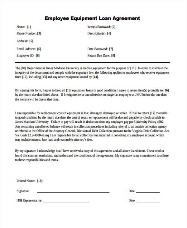 Money Lender Agreement Sample – Money Loan Agreement Sample