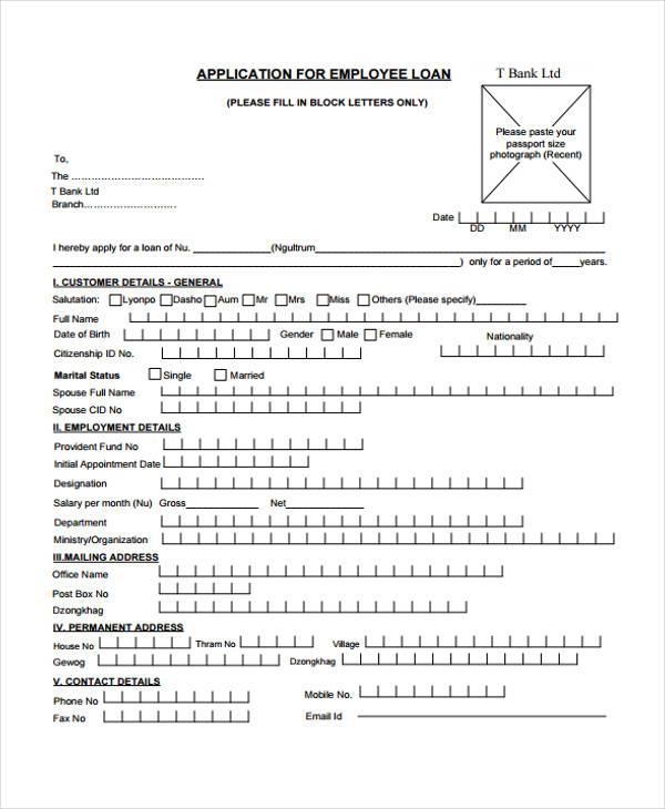 Loan Repayment Form Template | Jobs.billybullock.us