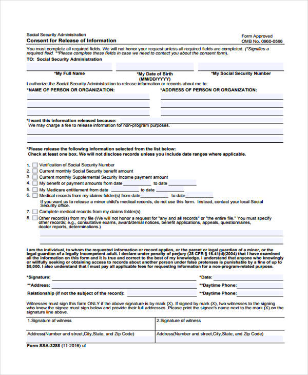 Social Security Administration Form Freeletter Findby Co