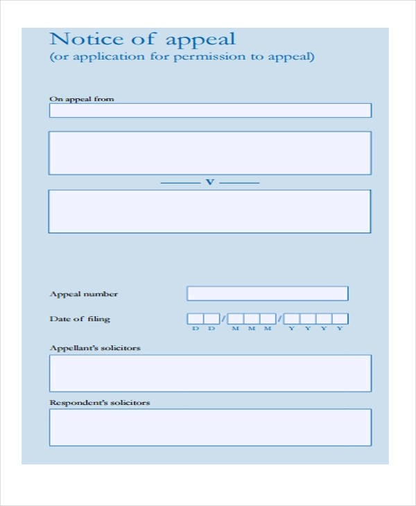 ... 29 Free Notice Forms   Free Notice Forms ...