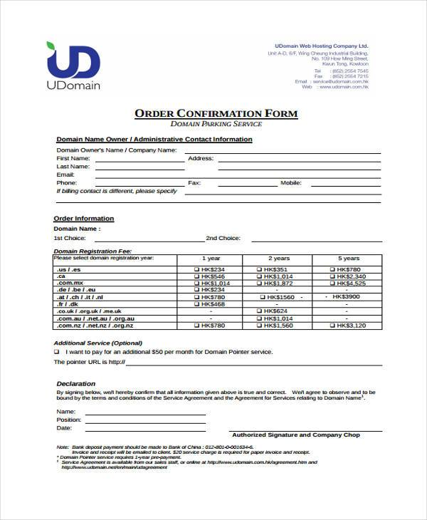 delivery confirmation form template 26 Delivery confirmation form – Delivery Confirmation Form Template