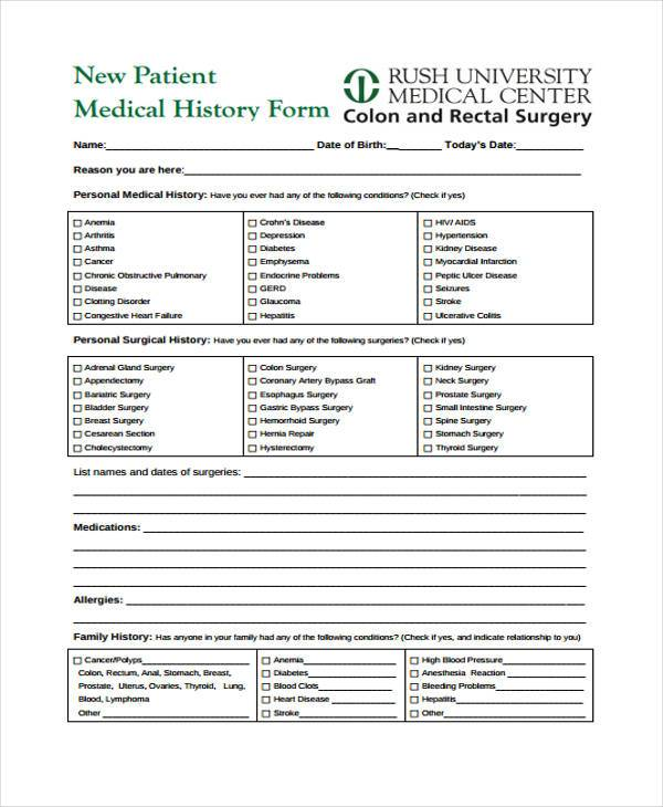 Free Medical Form Medical Consent Form Png Medical Consent Form Png - blank medical forms