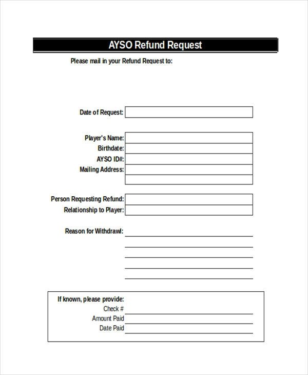 Refund Request Form 31 - new update - how to open dispute on - check request forms