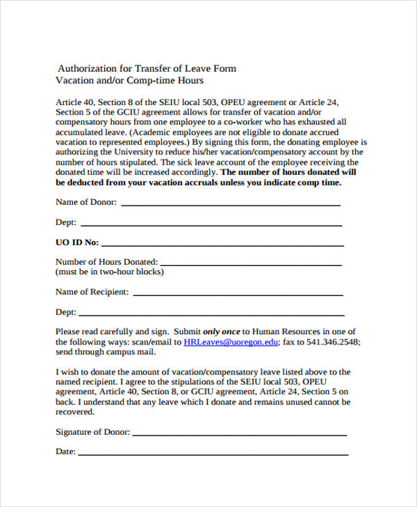 Captivating ... Leave Authorization Form Forms And Guides \/ Study Essentials   Format  Of Leave Form ...