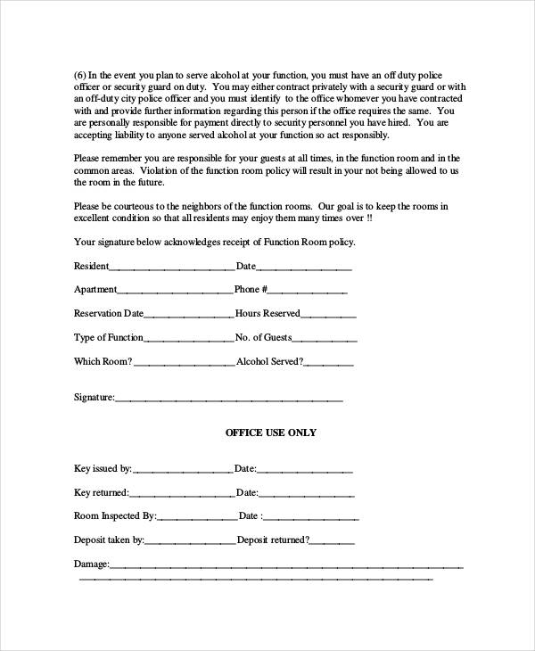 Free reservation forms kicksneakers 31 reservation form templates hotel room thecheapjerseys Choice Image