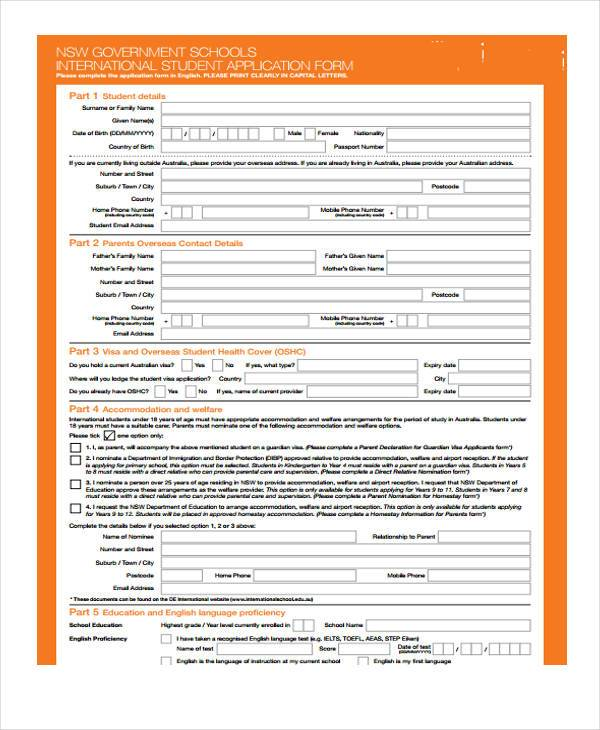 Employment Pass S Pass Application Form Form 8 Application Forms Format