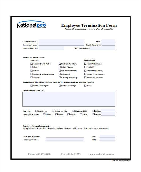employee exit form concepciontarlacph - hr form
