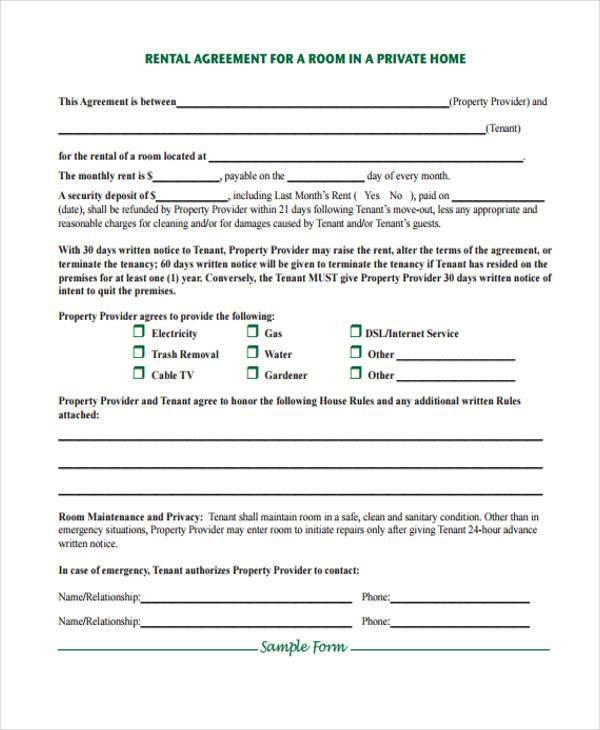 house rent application form - Pinarkubkireklamowe
