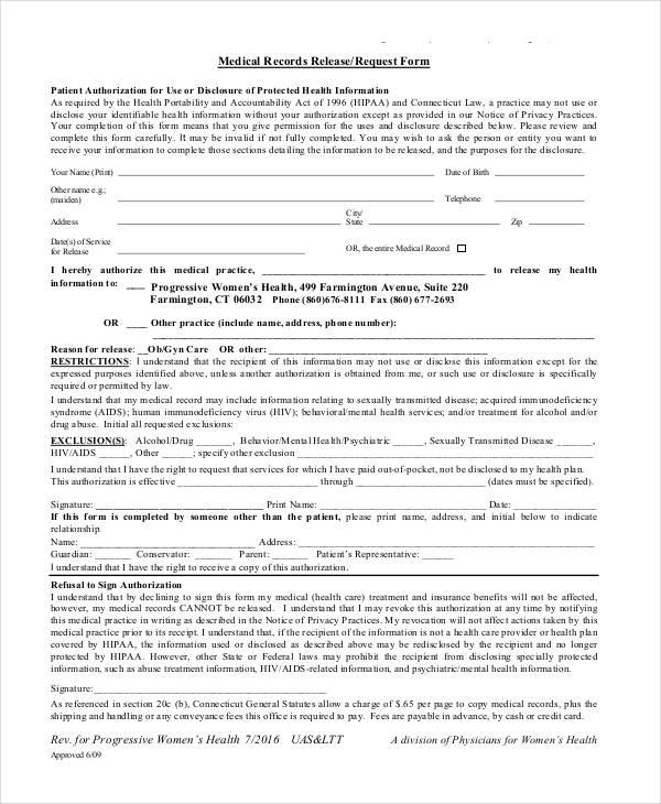 Okrva medical release form / Hotel 13 films nederlands - letter of medical necessity form