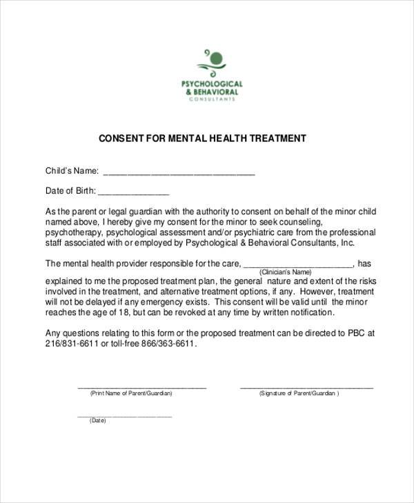 Informed Consent Form Psychology, 28 Images of Psychology Consent