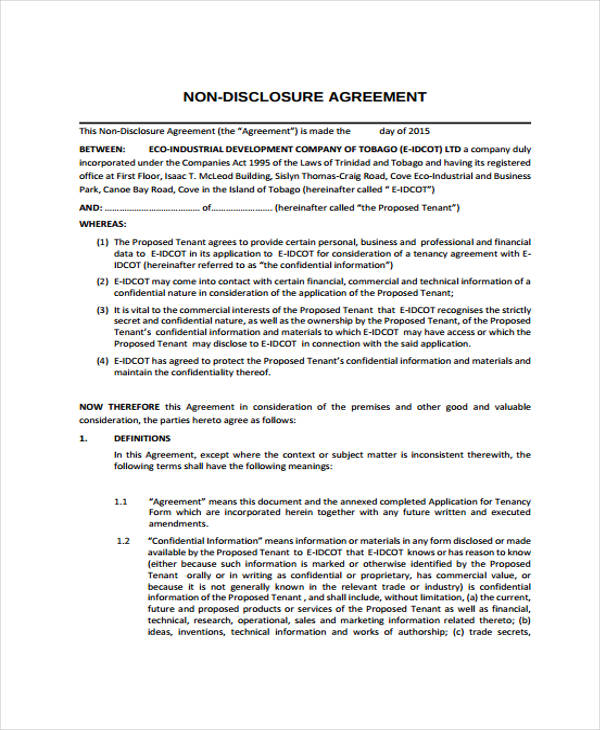 Business Development Agreement Template Web Software Design And - sample business agreements