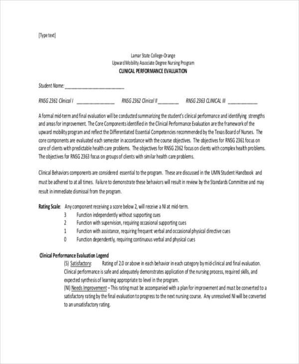 sample essay nursing student self evaluation form nurse self - sample essays on leadership