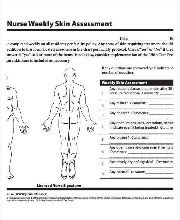nursing skin assessment form The Truth About Nursing Skin