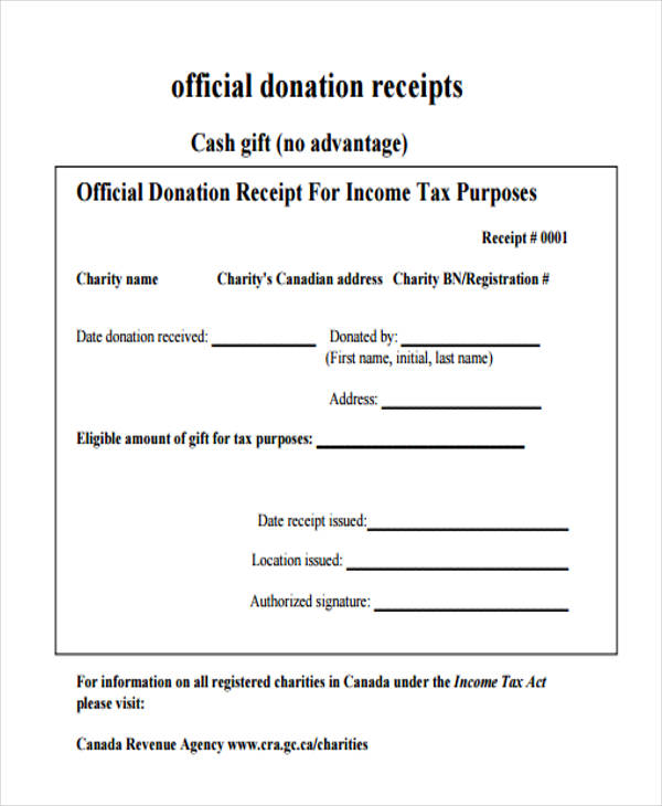 official receipt template – Receipt Forms