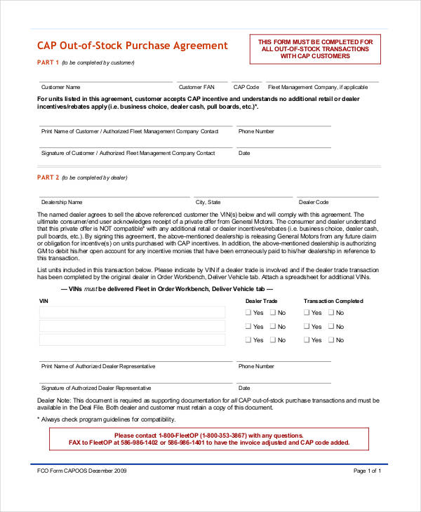 Stock Purchase Agreement Template  How To Draft A Stock Purchase