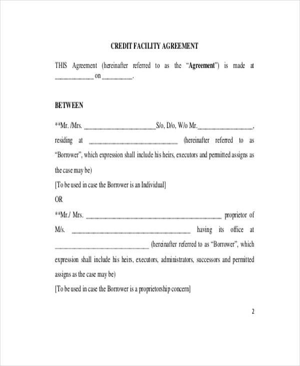 Free Loan Agreement Form - printable loan agreement form