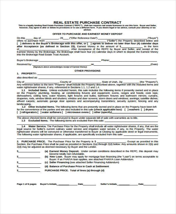 Sample Contract Forms - sample blanket purchase agreement template
